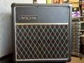 1966- Vox Pathfinder V1011 US Solid State, spaanplaat cabinet in levant grain vinyl.