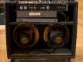 1966- Vox Viscount V15-V115-V1151-V1152, open back, Oxford Gold Bulldog 12 inch 16 ohm Alnico speakers.