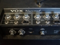 1967-1968- Vox Viscount V1153-V1154, panel links, Controls Channels Normal VTB, Top Boost, Brilliant VTB, Middle Boost, backcontrols Tremolo S-D, MRB, Footswitch.