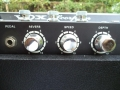 1968- Vox Scorpion V116 back panel links, footswitch RT, Reverb, Trem S-D.