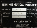 1967- Vox Defiant JMI typeplaatje head.