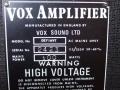 1967- Vox Defiant VSL typeplaatje head.