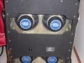 1967- Vox Supreme half open back, 4x12 inch speakers 8 ohm 12P en 2 Goodmans Midax horns 16 ohm.