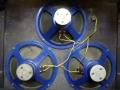 Vox LW30 Versie 2 1964, Elac 10N-82 10 inch 3 ohm Alnico Blue, in serie van 3 toegepast.
