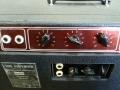 Vox LW30 SS Versie 2 1964, two control panels. Origineel horen er Duralumin knoppen op.