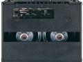 2003-2007 Valvetronix AD120VTX, closed back met uitgenomen deel waardoor zichtbaar de 2x12 inch Neodog 80 watt speakers met lichtgewicht neodymium magneet, back panel met speaker impedance selector