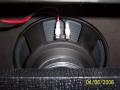 2005-2006 Vox VR30 open back 10 inch Vox label speaker.