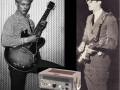 Framez Wheel Echomatic Model-J(ennings), dat bij Hank Marvin werd geintroduceerd via collega zanger - gitarist Joe Brown.