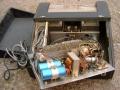 WEM Copicat MKIV Solid State samengebouwd met buizen poweramp, open back.