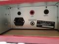 WEM Copicat Super IC, aansluitruimte met de break-in send en return jack rechts boven.