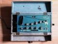Watkins Copicat Blue MKII buizen 1961, drukknop uitvoering. Vanaf hier kabelvak links.