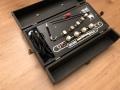 Watkins Copicat MkII All Black 1964, met bruin bakelieten Marriott heads en pill voltageselector 210-240 volt.