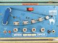 Watkins Copycat MKII Blue Turquoise Cream 1961-1962, tapeloop opname en 3 weergavekoppen.
