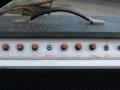 WEM Dominator 25 Bass buizenversterker ca 1978, controlpanel.
