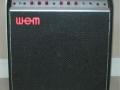 WEM Dominator 25 Bass buizenversterker ca 1978, front.
