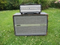 WEM ER15 Head Buizen Bass 14 watt 1963 met 2x 12 inch pick A-Bass (Piggy back) cabinet.