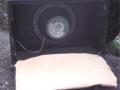 WEM Super 30 Bass Cabinet met single 15 inch Goodmans speaker, open back.