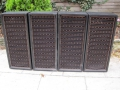 WEM 2x12 PA cabinets, front.