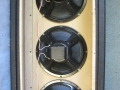 WEM 3x10 PA cabinets, open back met Peerless 10 inch speakers.