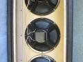 WEM 3x10 PA cabinets, open back met Peerless 10 inch speakers.