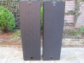 WEM 4x12 PA columns, closed back 4 ohm, met daarin 4x 12 inch Celestion G12 of Goodmans speakers.front.