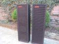 WEM 4x12 PA columns, front.