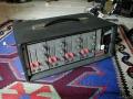 WEM Bandmixer 4 kanaals Solid State Mixer 100watt, 8 inputs.