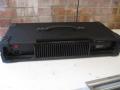 WEM Virtuoso 8 kanaals PA mixer 250 watt Solid State 1980, back met koelribben.