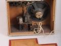 Rushworth Apollo open back met 10 inch Elac speaker, 5 watt chassis met ECC83, ECF82, EL84 en EZ80 buizen..