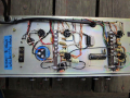 WEM Control ER15 basic tube head 1964, chassis onderzijde, links spannings selector.