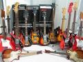 Watkins gitaren collectie.