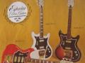 WEM gitaren met España label voor de USA markt 1964-1968.