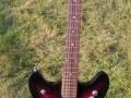Wilson Semi acoustic SA122 12 string met 2 Schaller pickups.